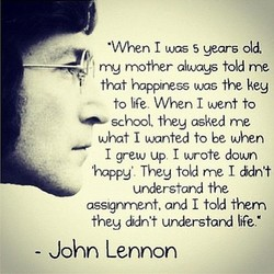 •When I was S years old, 