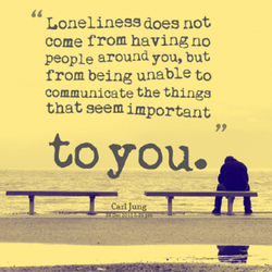 Loneliness does not 