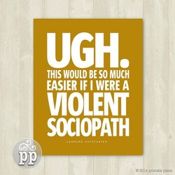 UGH. 
