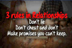 3 rules in«keldtionships 