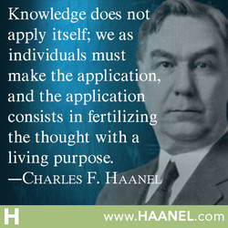 Knowledge does not 
