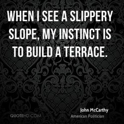 WHEN I SEE A SLIPPERY 