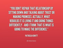 DON'T REPAIR THAT RELATIONSHIP BY 
