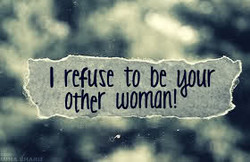 I refuse to be l,pur 