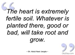 The heart is extremely 