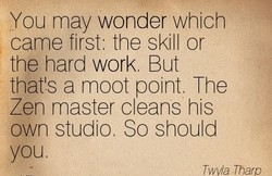 You may wonder which 