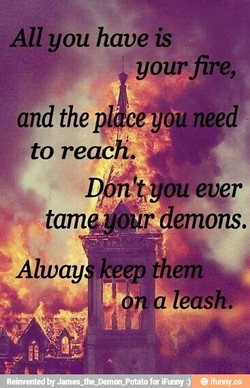 All you have is 