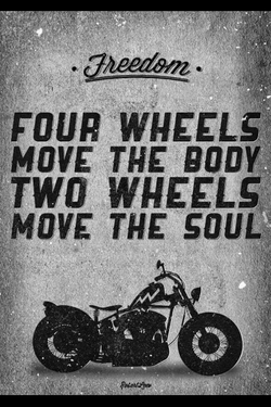 FOUR WHEELS! 
