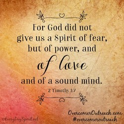 For God did not 