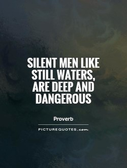 SILENT MEN LIKE 