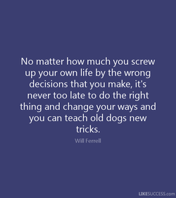 No matter how much you screw 