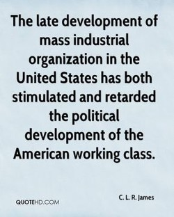 The late development of 