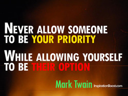 NEVER ALLOW SOMEONE 