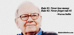 Rule : Never lose money 