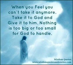 When you Feel you 