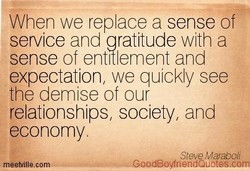 When we replace a sense of 