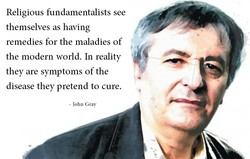 Religious fundamentalists see 
