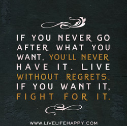 IF YOU NEVER GO 