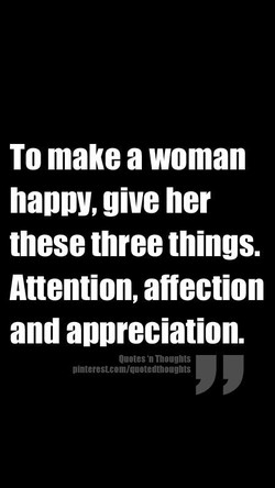 To make a woman 
