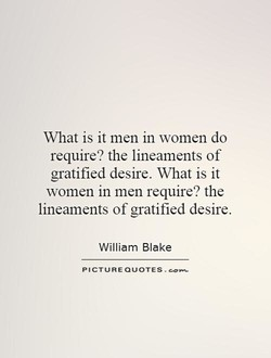 What is it men in women do 