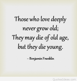 Those who love deeply 