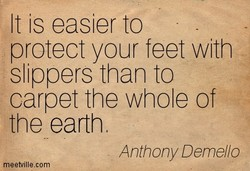 It is easier to 