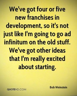 We've got four or five 