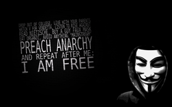 OUT OF COLLEGE, YOUR FOR VENDETTA LISTEN TO RISE AGAINST NIETZSCHE Éii ORGANIC, ANYTHING PREACH ANARCHY AND REPEAT AFTER ME: I AM FREE