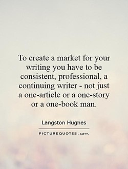 To create a market for your 
