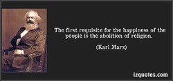 The first requisite for the happiness of the 