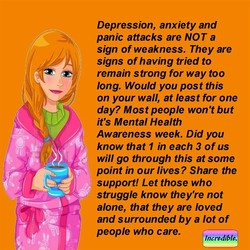 Depression, anxiety and 