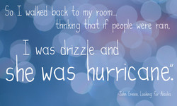So I walked back {o my room... 