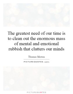 The greatest need of our time is 