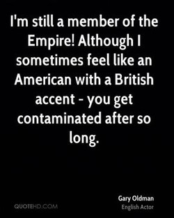 I'm still a member of the 