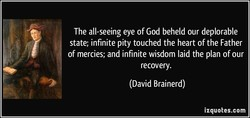 The all-seeing eye of God beheld our deplorable 