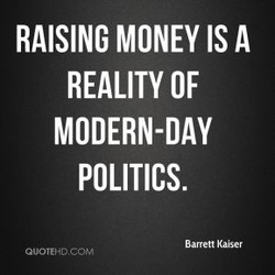 RAISING MONEY IS A 