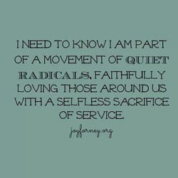 I NEED TO KNOW I AM PART 