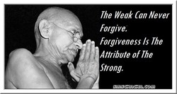 The Weak Can Never 