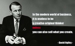 In the modern world ot business, 
