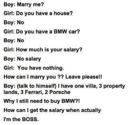 Boy: Marry me? 