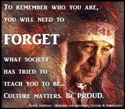 REMEMBER WHO YOU ARE, 