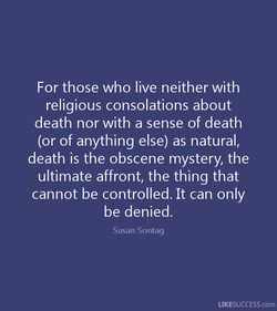 For those who live neither with 