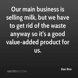 Our main business is 