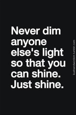 Never dim 