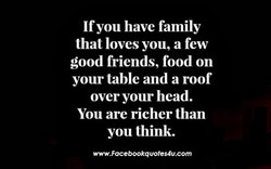 Ifyou have family 