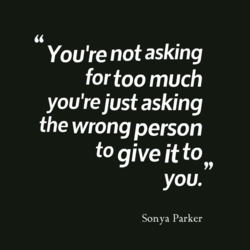 You're not asking 