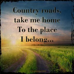 Country roads, 