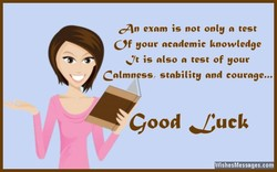 an exam is not only n test 