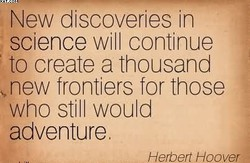 New discoveries in 