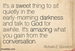 ts a sweet thing to sit 